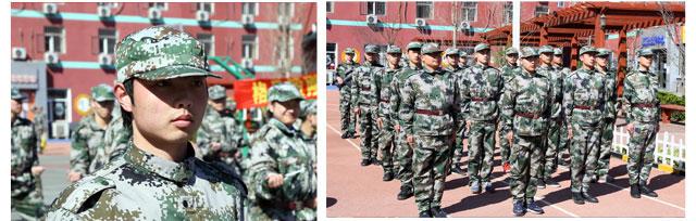 北京万通新生军训汇演